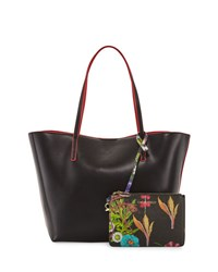 Cynthia Rowley Alma Colorblock Tote Bag Neutral