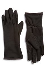 U R 'Active Stretch' Tech Gloves Black