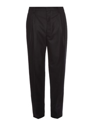 Lemaire Pleated Wool Flannel Trousers