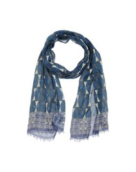 Paolo Pecora Accessories Oblong Scarves Men Dark Blue