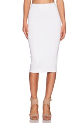 Michael Stars Convertible Pencil Skirt White