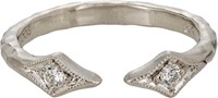 Cathy Waterman Women's Cuff Ring Colorless