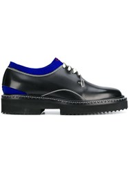 Oamc Cutaway Oxford Shoes Black