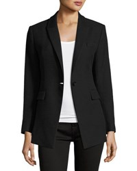 Theory Etiennette Item Canvas Sport Jacket Black