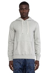 Reigning Champ Core Pullover Hoodie Gray