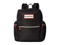 Hunter Original Top Clip Nylon Backpack Black Backpack Bags