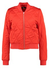 Only Onlsanna Bomber Jacket High Risk Red