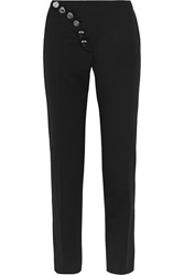 Versus Stretch Wool Twill Straight Leg Pants