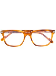 Cartier Tortoise Shell Glasses Brown