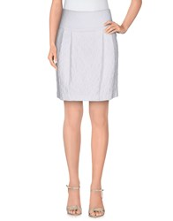 Pt0w Skirts Mini Skirts Women Beige
