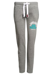 Superdry Track And Field Non Cuffed Joggers Grey