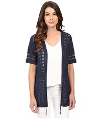 Pendleton Lindsay Cardigan Indigo Women's Sweater Blue