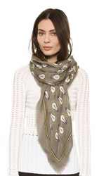 Anya Hindmarch Lightbulb Scarf Medium Grey