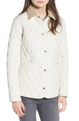 Barbour Women's Spring Annandale Quilted Jacket Pearl Summer Tartan