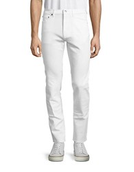 Highline Collective Five Pocket Stretch Jeans White