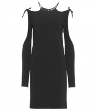 Tom Ford Cut Out Crepe Dress Black