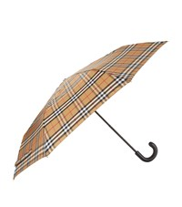 Burberry Vintage Check Umbrella Yellow
