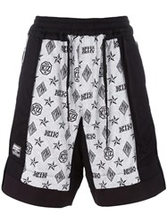 Ktz Monogram Inside Out Shorts White