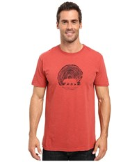 United By Blue Woodgrain Bear Red Men's Clothing