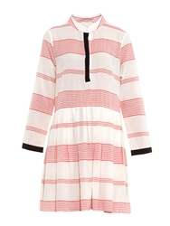 Band Of Outsiders Striped Cotton Shirtdress
