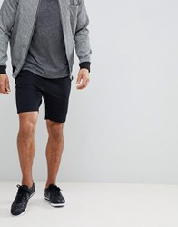 Only And Sons Jersey Shorts Black