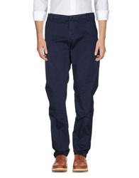 Franklin And Marshall Casual Pants Blue