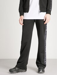 Blood Brother Branded Tape Sports Jersey Jogging Bottoms Black