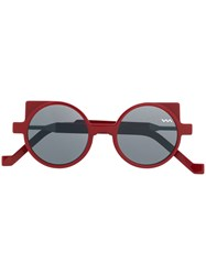 Vava Round Sunglasses Red