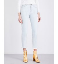 Sandro Event Skinny Denim Jeans Blue Vintage Denim
