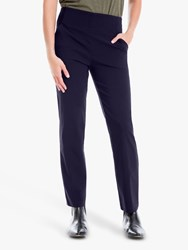 Max Studio Stretch Trousers Navy