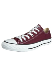 Converse Chuck Taylor All Star Ox Core Canvas Trainers Maroon Bordeaux