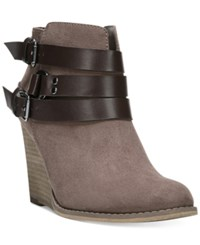 Carlos By Carlos Santana Cassedy Wedge Booties Women's Shoes Doe