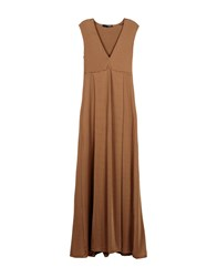 .Tessa Dresses Long Dresses Women Brown