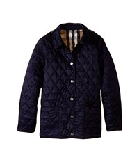 Burberry Pirmont Jacket Little Kids Big Kids Military Navy Men's Coat Black