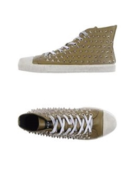 Gienchi High Tops And Trainers Military Green