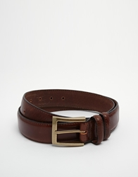 Barbour Classic Leather Belt Brown