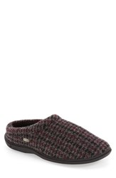 Acorn Men's 'Digby' Slipper Burgundy Check