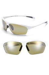 Men's Maui Jim 'Stone Crushers Polarizedplus2' 71Mm Sunglasses White Pearl