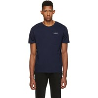 Harmony Navy Usa Teddy T Shirt