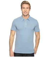 Mod O Doc Zuma Short Sleeve Polo Fountain Men's Clothing Blue