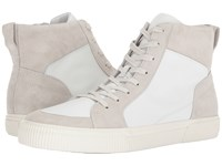 Vince Kameron White Horchata Maddox Leather Sport Suede Men's Shoes Beige