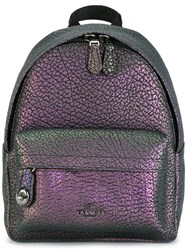 Coach Hologram Effect Backpack Pink Purple
