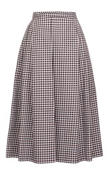Baum Und Pferdgarten Saheli Pleated Skirt Plaid