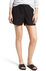 Madewell Pull On Shorts Almost Black