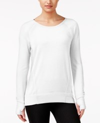 Ideology Long Sleeve Top Only At Macy's Bright White