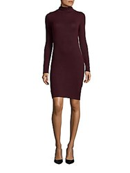 French Connection Turtleneck Sweater Dress Zinfandel