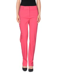 Class Roberto Cavalli Trousers Casual Trousers Women Fuchsia