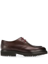 Doucal's Lace Up Derby Shoes Brown