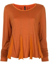 Taylor Acquainted Top Yellow And Orange