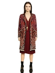 Tory Burch Cashwool Tapestry Coat